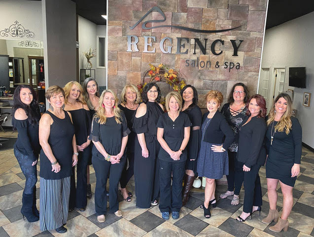 Regency Salon and Spa Staff